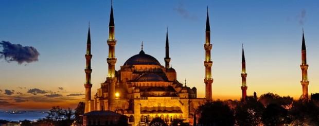 Profilo skyline di istanbul