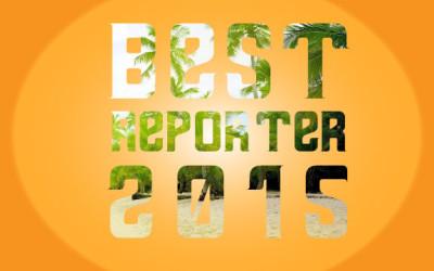 Best Reporter 2015